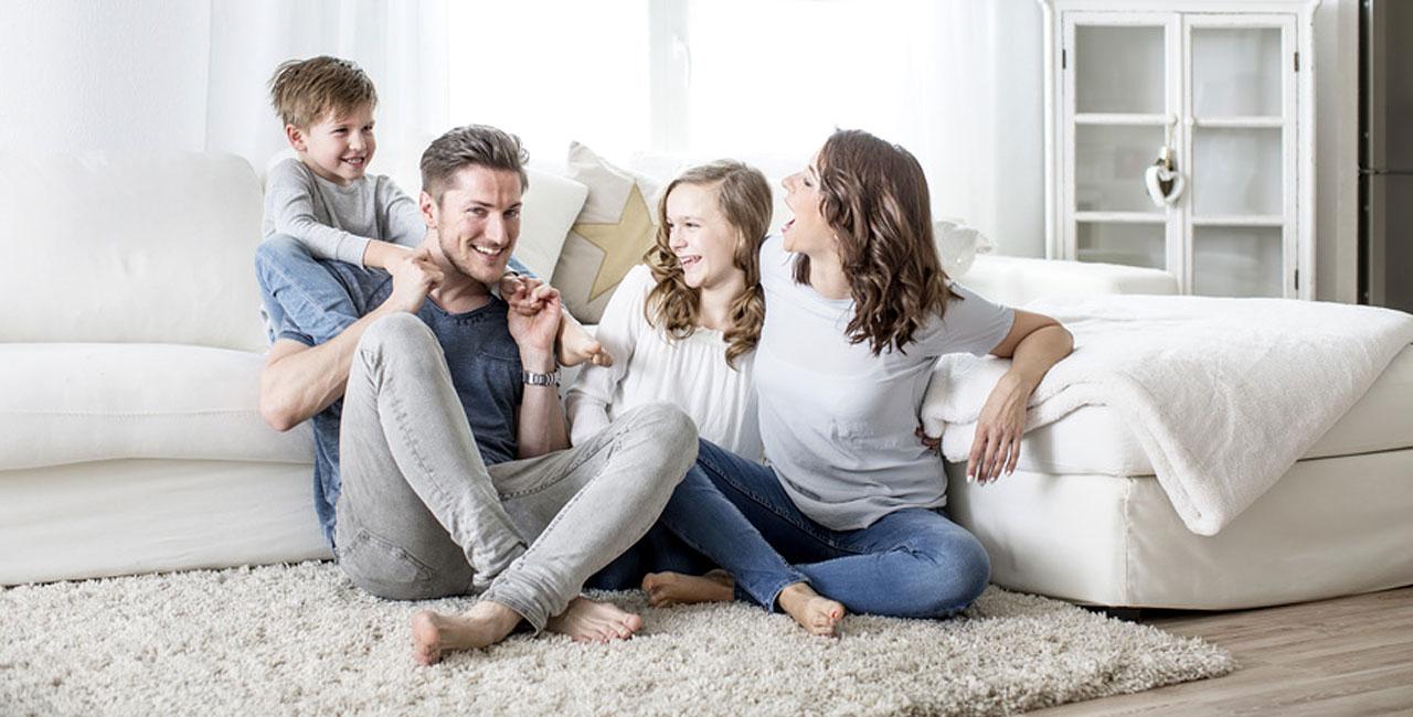 Familie nach Umzug